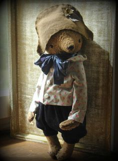NEW PDF E-pattern for 16 inch Artist Teddy Bear Mark plus the pattern for the outfit and Napoleon Hat pattern includedby Sasha Pokrass. by makeyourownbear on Etsy https://www.etsy.com/uk/listing/187495413/new-pdf-e-pattern-for-16-inch-artist