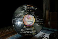 originele menukaart
