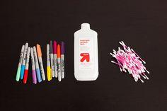DIY Basics: Watercolor-Inspired Throw Pillows via Brit + Co