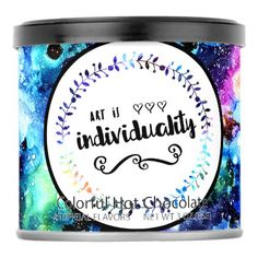 Art is Individuality Powdered Drink Mix - kitchen gifts diy ideas decor special unique individual customized