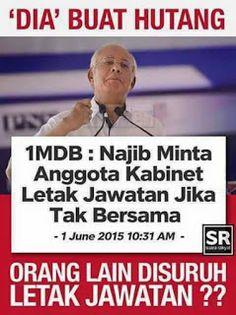 The Sense, Credibility and Accountability: Begitu terDESAK DS Najib dalam ISU 1MDB hingga diB...