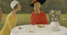 Jean-Paul Lemieux 1904 - 1990 COUNTRY CLUB signed and dated lower right oil on canvas 72 by 136 cm. Jean Paul Lemieux, Alex Colville, Star Wars, Portraits, Canadian Artists, Art Auction, Les Oeuvres, Oil On Canvas, Modern Art