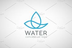 Water logo by dacascas on @creativemarket