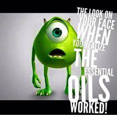 Funny essential oil meme