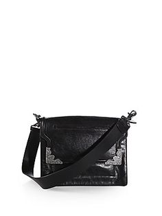 McQ Alexander McQueen Embellished Crossbody Bag