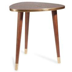 Tavolino da salotto marrone in legno L 40 cm SHEFFIELD