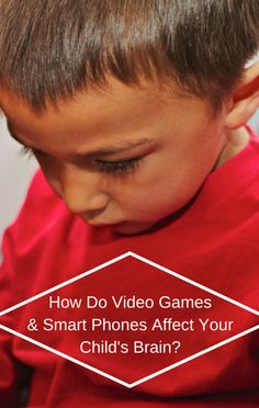 Do you know just how much video games and smart phones can affect the development of your child's brain? Dr Oz investigated, to give parents a better understanding!