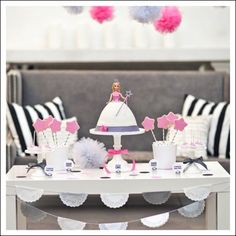 {Photo Styling & Article for HGTV} Girl's Birthday Party Themes! - The TomKat Studio