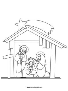 Nativity Coloring Pages, Christmas Coloring Pages, Christmas Party Games, Christmas Activities, Coloring Sheets, Coloring Books, Christmas Colors, Christmas Crafts, Simple Nativity