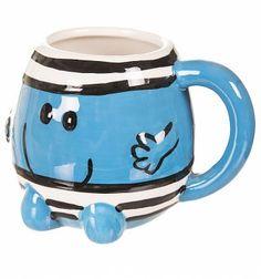 Mr Men Mr Bump 3D Mug