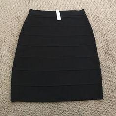 Gorgeous Black bandage skirt Gorgeous NWT Black bandage skirt.  Originally $140 Romeo & Juliet Couture Skirts Midi