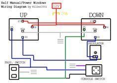 Half Manual Power Window Wiring Diagram Electrical Circuit Diagram Car Audio Installation Car Mechanic