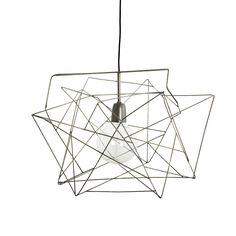 Awesome House Doctor Deckenlampe Asymmetric Metallgrau