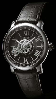 Cartier Astrotourbillon Carbon Crystal Limited Edition Watch | aBlogtoWatch #Watch