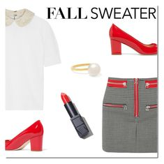 """""""Cozy Fall Sweaters"""" by danielle-487 ❤ liked on Polyvore featuring Alice + Olivia, Isabel Marant, J.Crew, NARS Cosmetics, Sophie Bille Brahe and fallsweaters"""