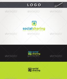 Social Sharing Logo — Photoshop PSD #consult #chat • Available here → https://graphicriver.net/item/social-sharing-logo/2781925?ref=pxcr