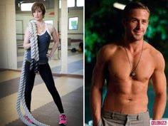 Ryan Gosling's personal trainer Ashley Borden, 42, reveals how she gets him in shape