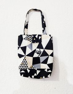 Tote Bag Fabric Tote Bag Echino Bag Market by handjstarcreations