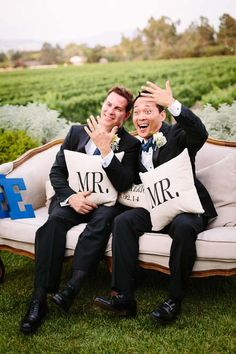 California Vineyard Summer Gay Wedding | Equally Wed – LGBTQ Weddings