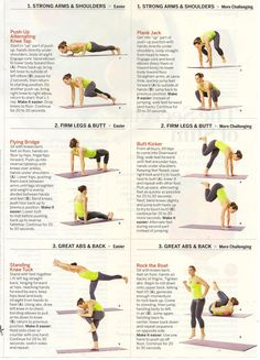 Mix & match these ab and back moves to get a strong core developed Maryanne Blake at the Sports Club/ LA-Boston.