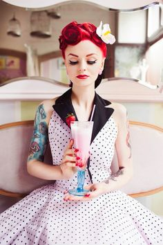 #pinup #rockabilly #retro #vintage #tattoo