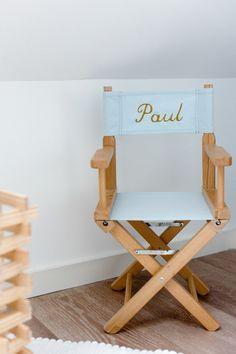 chaise metteur en scene enfant