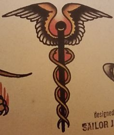 Traditional/old school tattoo, sailor jerry, medical, medic