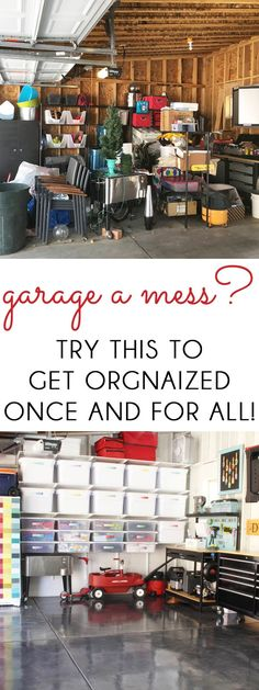 ORGANIZE THE GARAGE