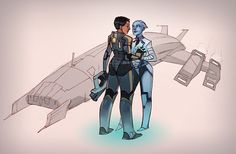 ME3 Fan Art by zazB.deviantart.com