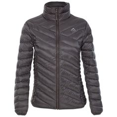 K-Way Women's Tundra Down Jacket - Pewter Outdoor Gear, Pewter, Hiking, Winter Jackets, Running, Clothing, Fashion, Tin, Walks