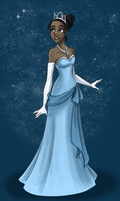i do give disney major props, they finally have a black princess and shes dark skinned <3 now they just need to make more!
