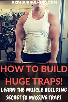How to Build Bigger Traps - 5 Secrets to Build Huge Traps! - SERIOUS BULKING