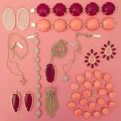 Shop Austin: Pink Jewels from Kendra Scott for Fall