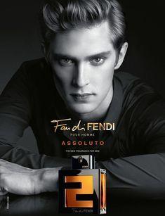 Mathias Lauridsen Fronts Fan di Fendi Assoluto Fragrance Campaign image mathias fendi001