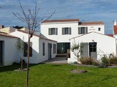 Noirmoutier-en-l'Île, Maison de vacances avec 6 chambres pour 12 personnes. Réservez la location 1233476 avec Abritel. Grande maison d'architecte familiale + confortable centre village proche plages