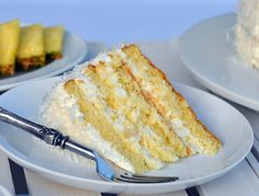 pineapple coconut cake whipped cream icing recipe