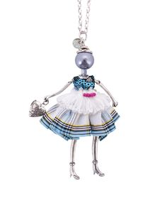 Spencer and Rutherford - Accessories - Jewellery - Long Pendant Necklace - Adara Doll - Mon Minou