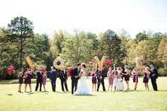 LOVE balloons, and anything quirky for wedding/engagement photos!