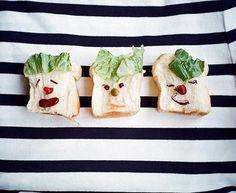 desayunos divertidos #funfood #comidadivertida #arecetas #funny #art #arte