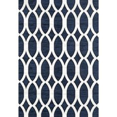 Persian Rugs Modern Trellis Blue Area Rug (7'10 x 10'0) - Free Shipping Today - Overstock.com - 20518586 - Mobile