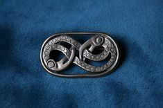Medieval brooch  authentic archeological pattern by medievalcrowd