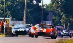 Maserati 151/3 & Ford GT40 at Le Mans 1964