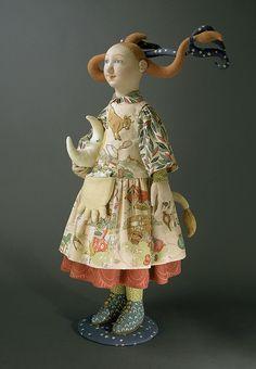 I adore Shellley Thornton's dolls!
