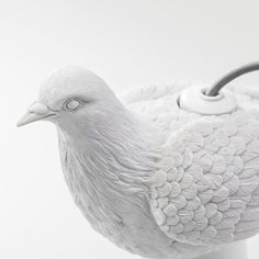 Bird Table Lamp in the White Peace and Naturality Romance – The Sweet Home Make