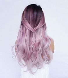 Red or Pink Hair Color Tones-Do you want to have stylish ombre hair color? We bet you do! Ombre Hair Color, Purple Hair, Pink Purple, Pastel Ombre Hair, Hot Pink, Green Hair, Pink Color, Teal Orange, White Ombre Hair