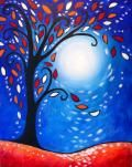 """Paint """"Moonlit Whimsy"""" at Muse Paintbar"""