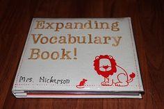 Expanding Vocabulary Book