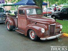 old international trucks | Msra 38Th Annual Show 1947 International Photo 36