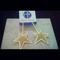 Aretes estrellas!!!