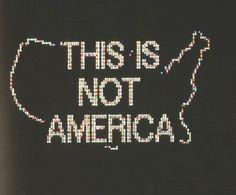This Is Not America by Alfredo Jaar